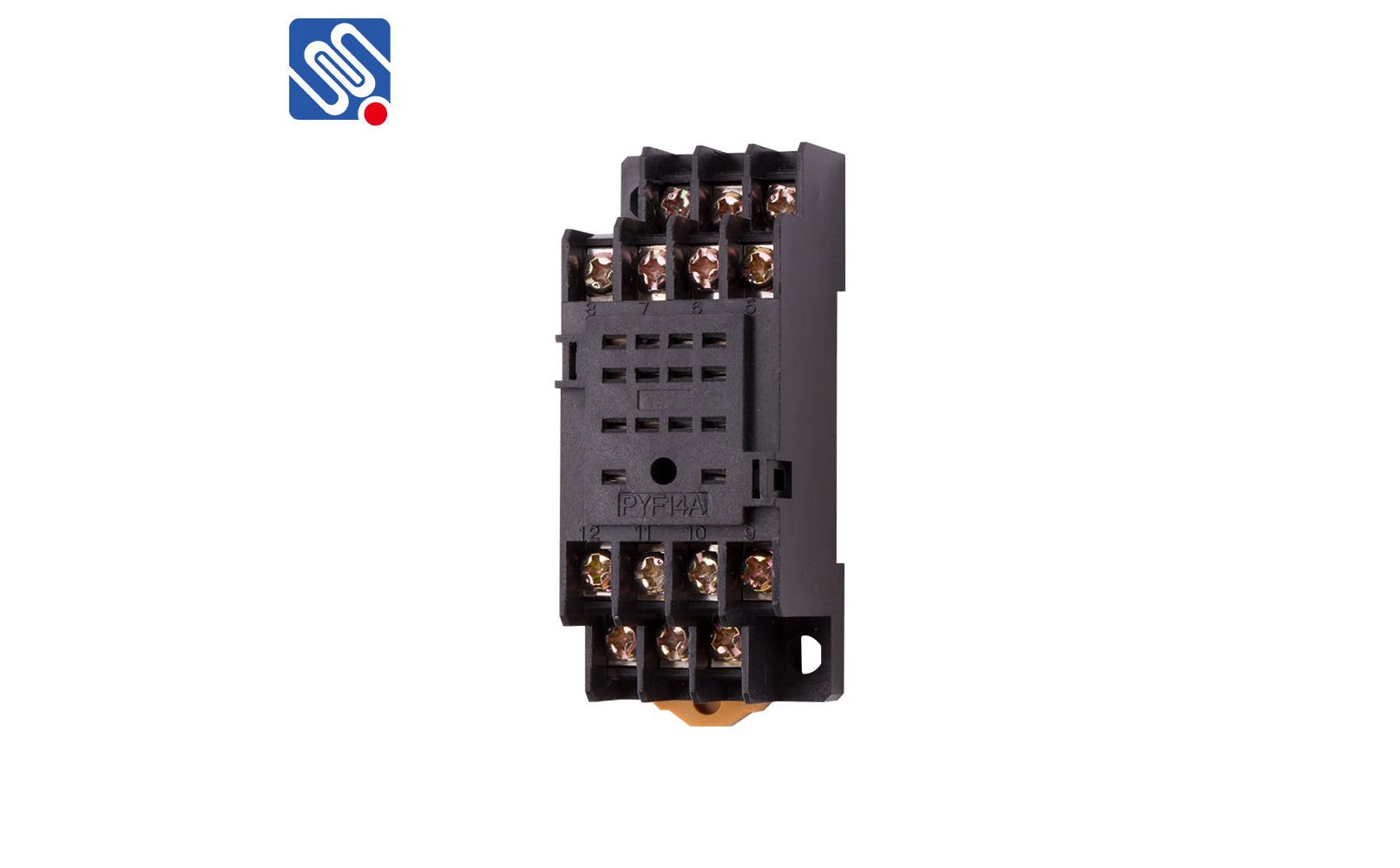 Din Rail Relay Socket Pyf14a Ontium Corp 4 Prong Pigtail 14 Pin And Harness